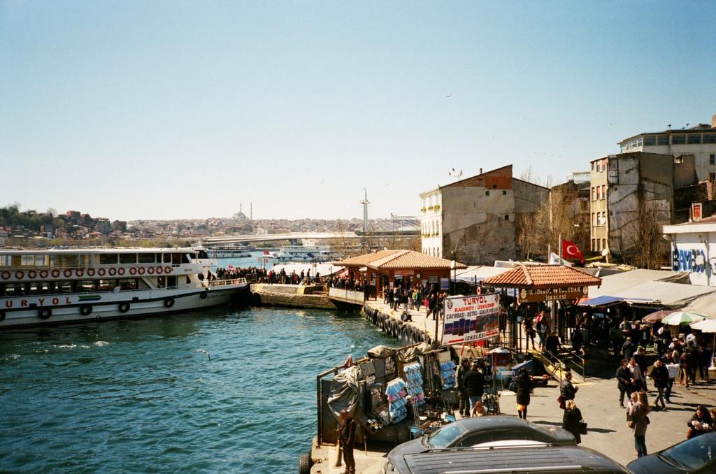 Karaköy waterfront as seen from Galata Bridge