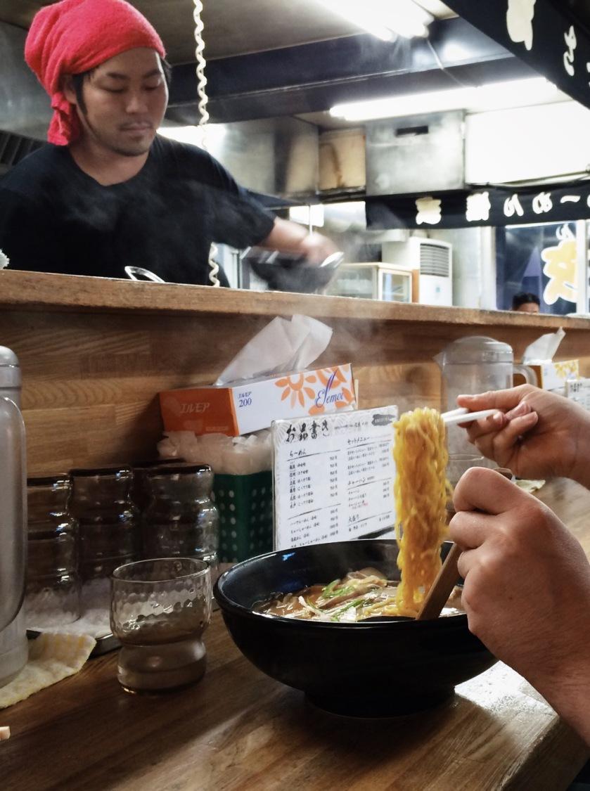 Shingen ramen, Sapporo, Hokkaido