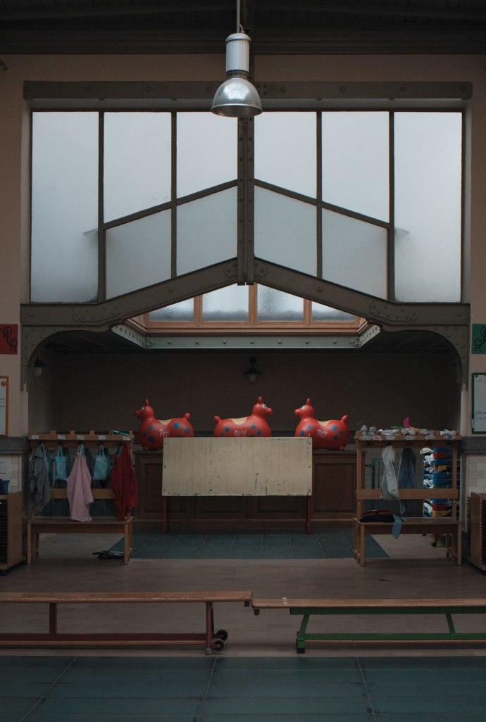 Ecole maternelle Catteau-Victor Horta @ 40 rue St. Ghislain, Brussels