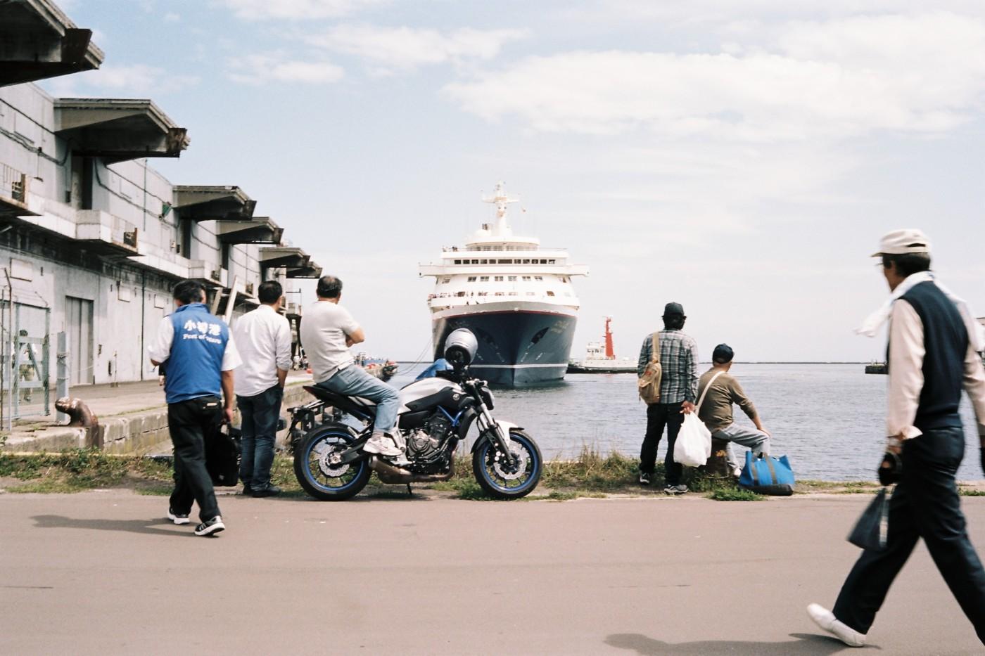 Otaru port - Kodak Portra 160 05