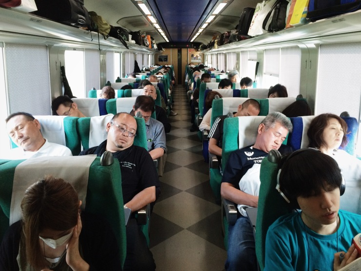 Japanese rail travel