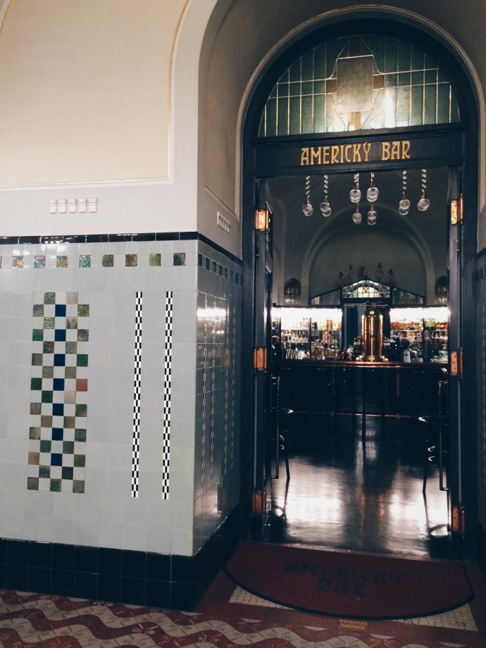 Prague - American Bar, Municipal House