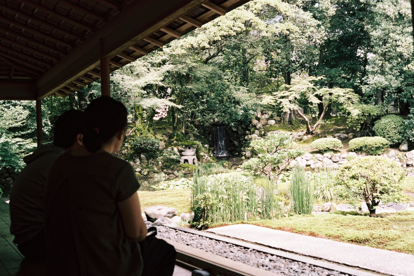 Shiguretei Tea House - shot with Canonet QL17 on Portra 160 film