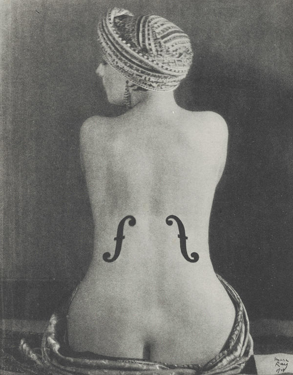 Le violon dingres (Kiki de montparnasse) by Man Ray