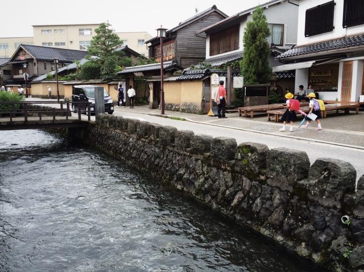 Nagamachi (samurai) district in Kanazawa