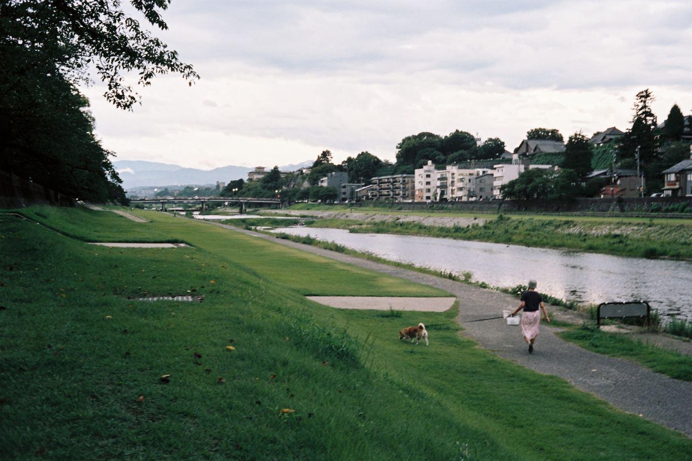 Sai River, Kanazawa - shot with Canonet QL17 with Portra 160
