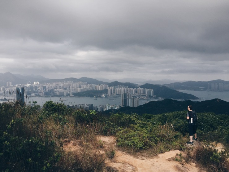 Hong Kong peaks and towers