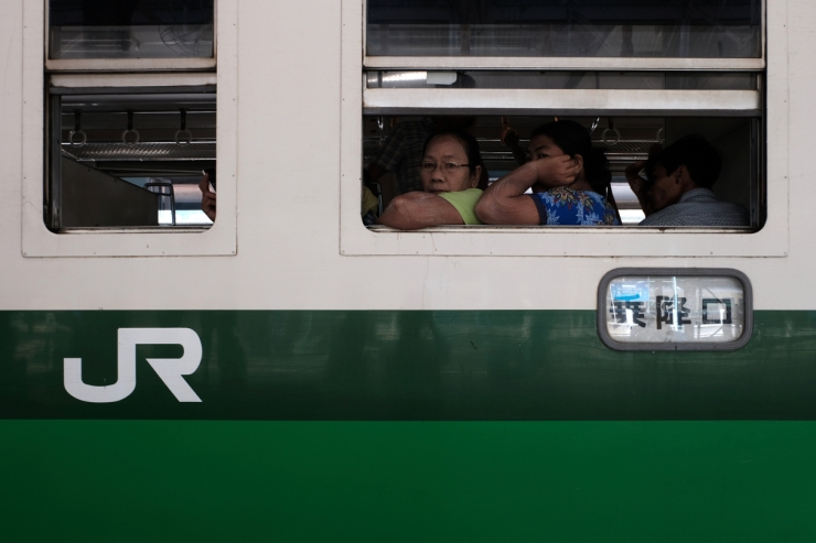 Yangon train