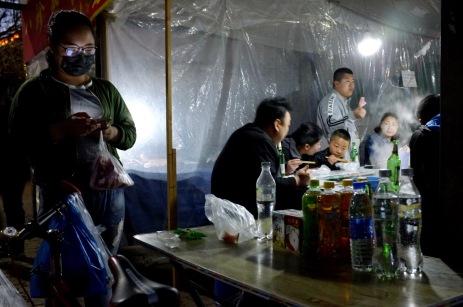Night market in Songbei