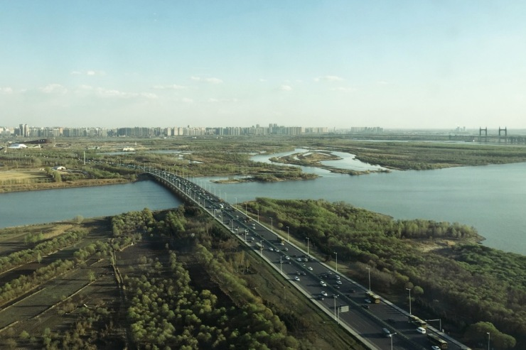 View from Songbei Shangri-La, Harbin